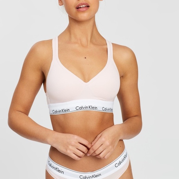 Calvin Klein Modern Cotton Lightly Lined Bralette